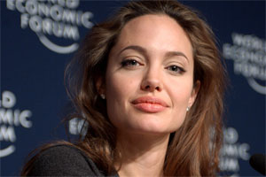Angelina Jolie, source photo : wikipedia.org