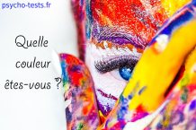 psycho test : quelle couleur es tu